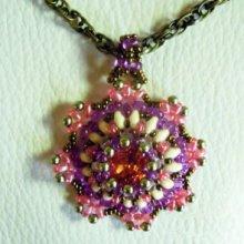 Tutoriel pendentif médaillon Bohemian