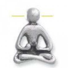 Perle métal Yoga 18 mm