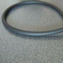 Cordon tube creux Noir 4mm par 20cm