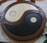 Bougeoir puzzle Yin-Yang