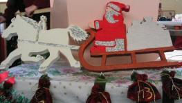 Père Noël et son traineau