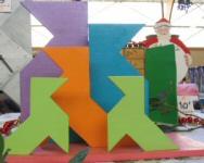 Range lettres en bois