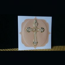 carte double pour occasion communion