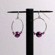créole violette et argentée