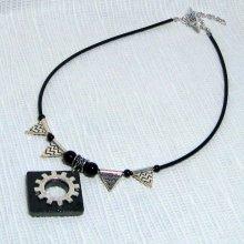 collier pendentif steampunk