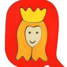 Q- queen Lettres bois, déco et puzzles