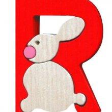 R. rabbit Lettres bois, déco et puzzles