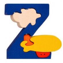 Z- zeppelin  Lettres bois, déco et puzzles