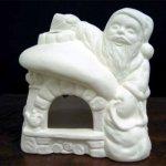 Père Noël et maison