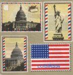 Serviette papier Le Capitole Etats-Unis- 33 cm x 33 cm