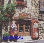 Serviette papier Sud Provence et santons