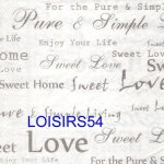 Serviette papier love sweet home