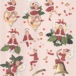 Feuilles 3D Noël et lutins