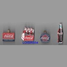 Pinces à linge Coca lot de 4 pieces