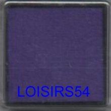 Encreur violet 25 mm pour décoration de cartes