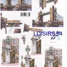 Feuille 3D Londres et Big Ben