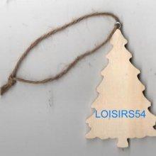 Sapin en bois 6 cm pour décoration