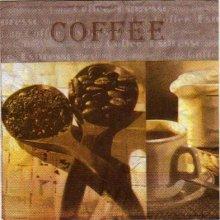 Serviette papier café et expresso de 33 cm X 33 cm