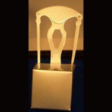 Chaise carton pour dragées 10 cm