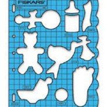 Règle de découpe naissance Fiskars
