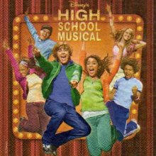 Serviette papier High School Musical