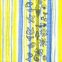 Serviette papier mer et maillot 33 cm X 33 cm 3 plis