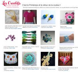 newsletter Printemps les-creatifs