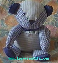 Nounours : exemple de couture