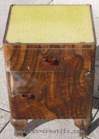 recycler un vieux meuble. Black Bedroom Furniture Sets. Home Design Ideas