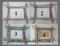 Un cadre photo ou miroir en bois flott for Cadre en bois flotte technique