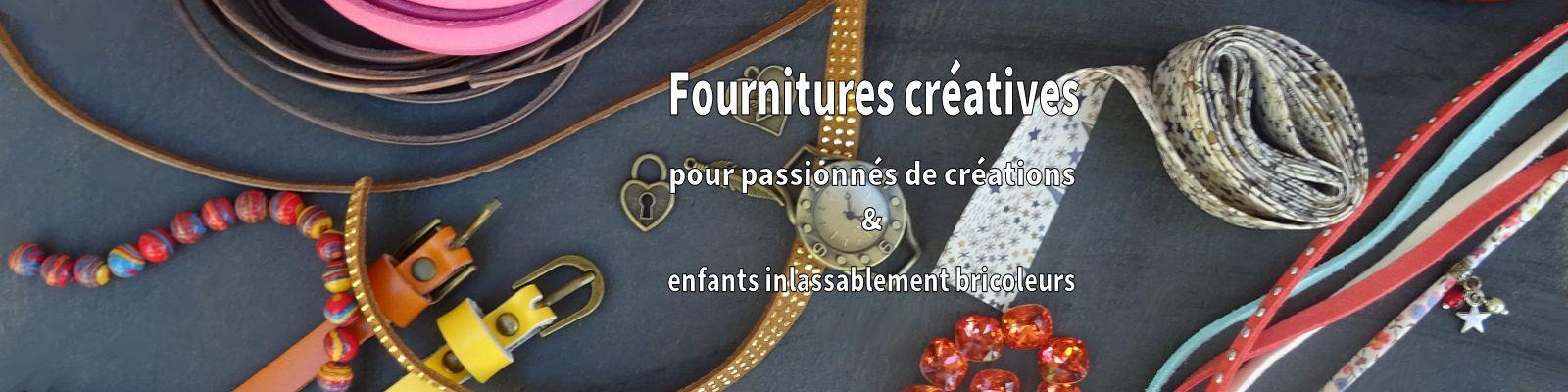 Fournitures créatives pour passionnés de création & enfants bricoleurs