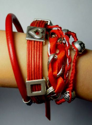 Bracelet multi-rangs style Hipanema