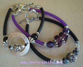 Modele de bracelet en perle a faire soi meme - Support bijoux a faire soi meme ...