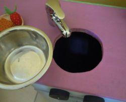 Fabriquer une cuisine en bois pour enfant - Comment fabriquer une cuisine pour petite fille ...