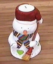Bonhomme de neige en pate a sel pictures to pin on pinterest - Pinterest bonhomme de neige ...