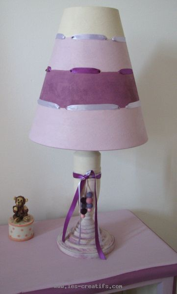 Lampe de chevet chambre b b - Lampe de chevet fille ...