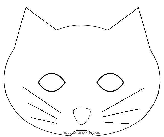 Masque Chat A Imprimer