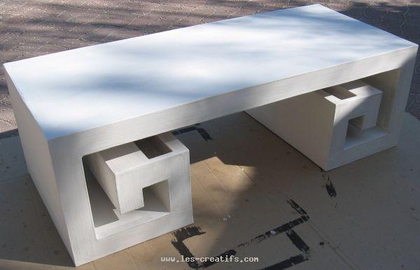 Enduire le meuble en carton - Fabriquer meuble en carton ...