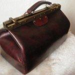 sac de voyage vintage fait-main