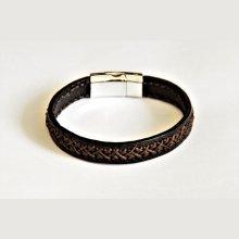 bracelet tressé fabrication artisanale