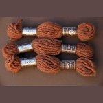 Echevette 8m  7466, ton marron clair, 100% pure laine Colbert DMC