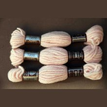 Echevette 8m  7200, ton rose clair, 100% pure laine Colbert