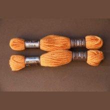 Echevette 8m  7918, ton orangé, 100% pure laine Colbert DMC