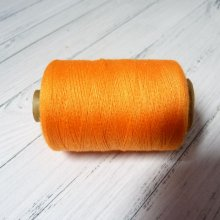 FIL À COUDRE EN POLYESTER ORANGE POUR MACHINE À COUDRE