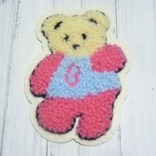 APPLIQUE À COUDRE OU À COLLER 'OURS'