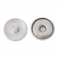 2 supports pour bouton pression 18 mm