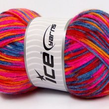 Pelote de laine 'Self-Striping'
