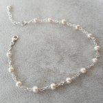 Bracelet perles de cultures en argent 925