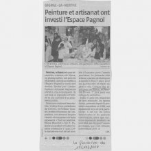 Article de journal Gignac 2007