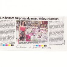 Article la Provence 2012